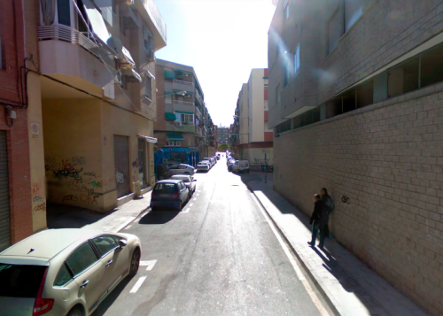 La calle...